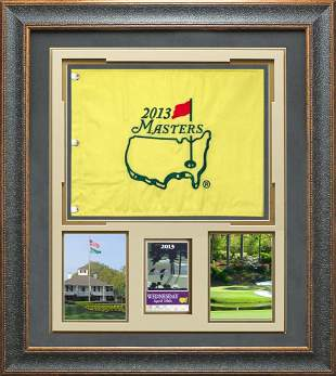 2013 Masters Flag with your Daily Ticket or Masters