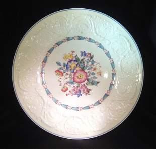 3 Wedgewood Patrician Morning Glory Plates