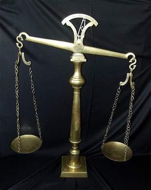Huge Brass Scale