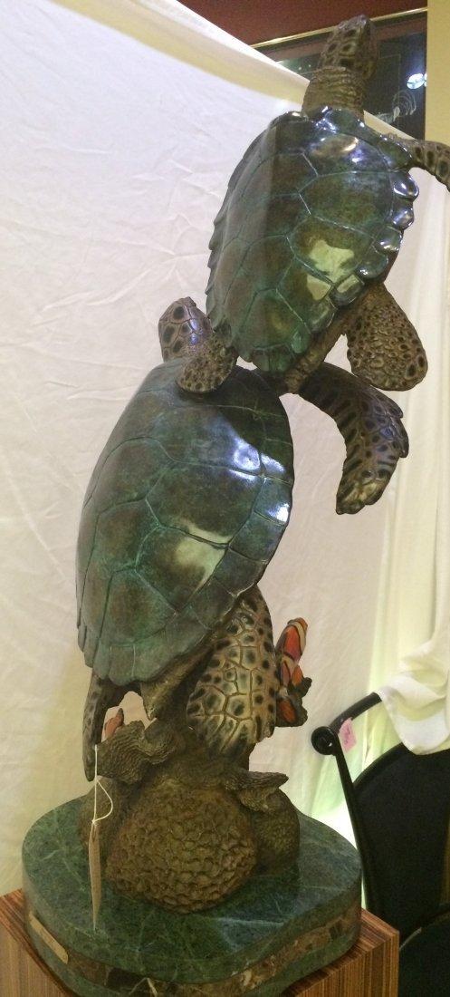 """Sculpture by S. Koop """"Harmony"""" COA"""