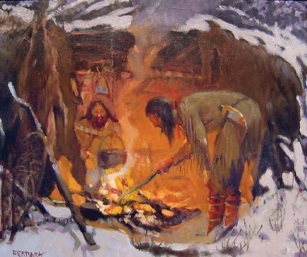 21: Joe Ferrara (1931-2004) Oil on Canvas