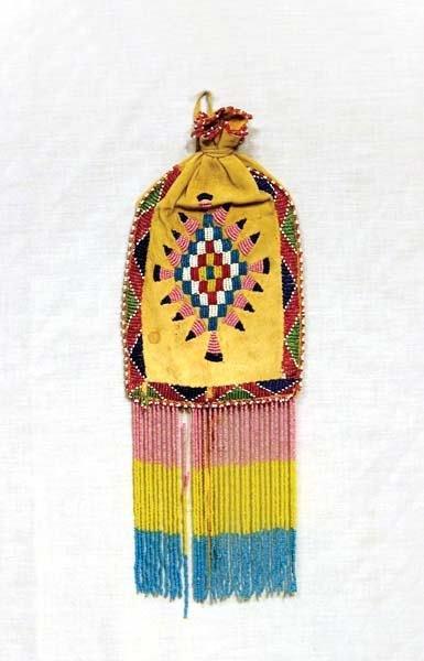 2: 1940's Apache Beaded Bag
