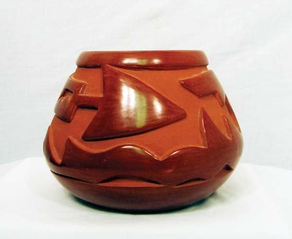 5: 1950's Santa Clara Pottery Jar