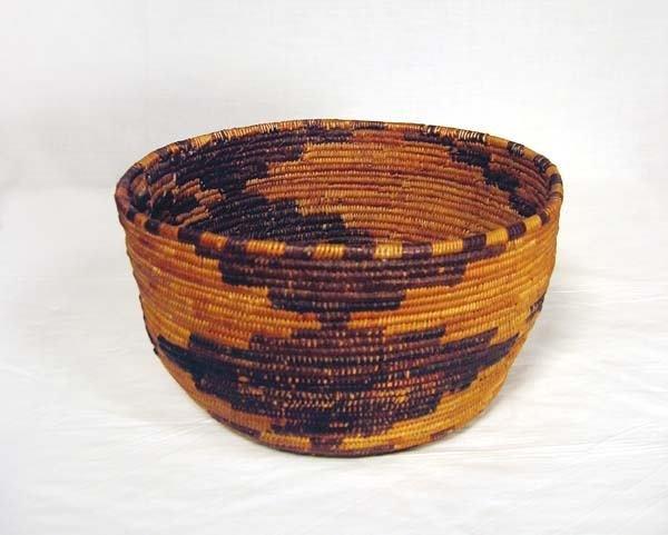 6: Polychrome Pomo Basket