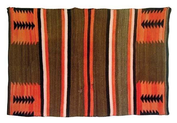 313: Navajo Child's Transitional Weaving