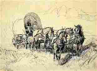Robert Lougheed mixed medium Drawing