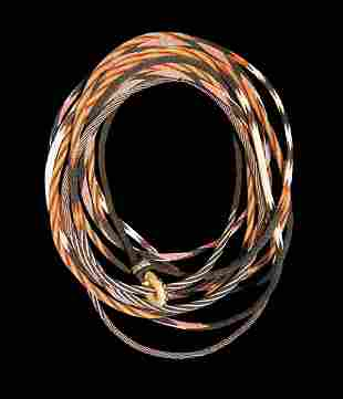 Montana Prison Hitched Horsehair Rope