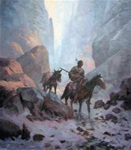 91: Lyle Tayson 30 x 24 oil on canvas