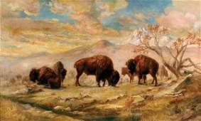 112: Frank Hoffman 22 x 36 oil on canvas
