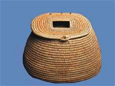 467: Jicarilla Apache Woven Fishing CREEL