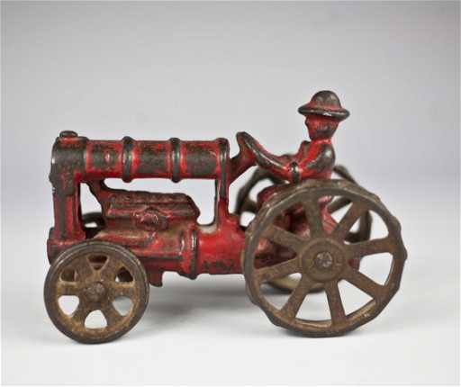 Chinese Antique Tractors : S hubley cast iron tractor
