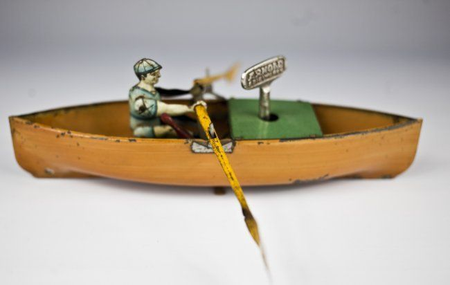 Arnold MAN IN ROWBOAT TOY