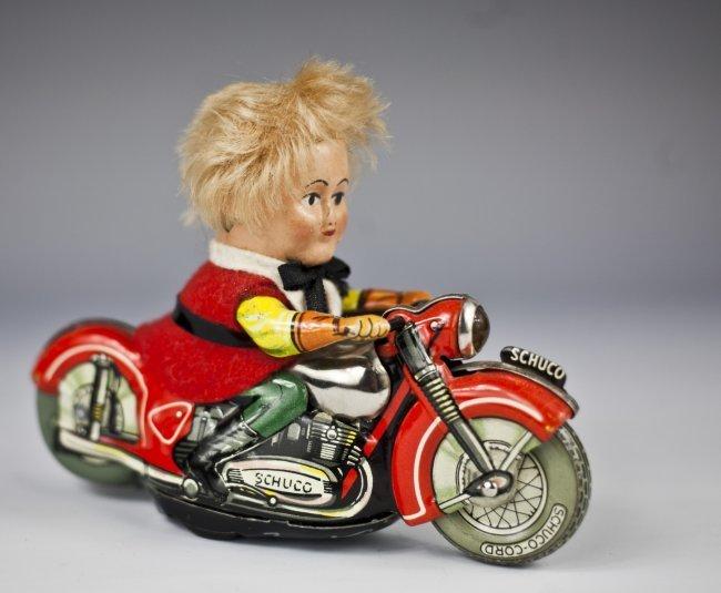 Schuco Mirako Peter Motorcycle No. 1013, c. 1955
