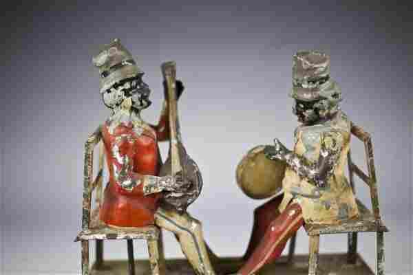 RARE GUNTHERMANN MUSICIAN CLOCKWORK