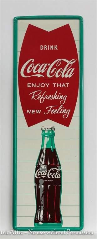 "Coca-Cola sign, ""Drink Coca-Cola-Enjoy That Refreshing"