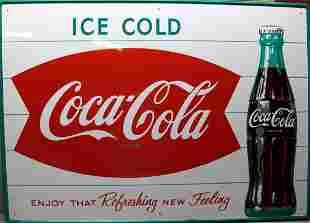 '50's/'60's COCA COLA COKE FISH TAIL