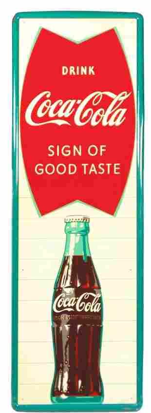 Vintage 1960 Coca Cola Fishtail Soda Pop Bottle 54