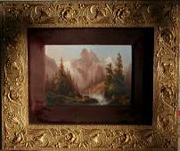 19th Century Hudson River School Oil Painting