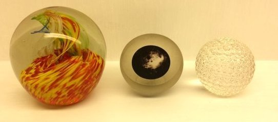 3 PAPERWEIGHTS