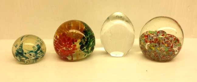 4 PAPERWEIGHTS