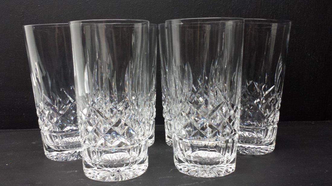SET OF 6 WATERFORD CRYSTAL GLASSES