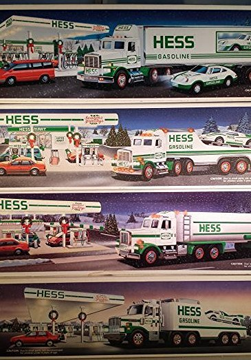 15 HESS TRUCK COLLECTION AND HELICOPTERS - 2