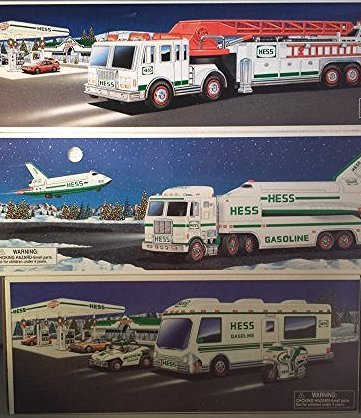15 HESS TRUCK COLLECTION AND HELICOPTERS - 4