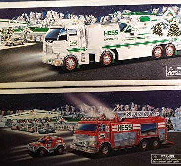 15 HESS TRUCK COLLECTION AND HELICOPTERS - 6