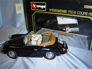 Bburago 1961 Porsche 356B Coupe