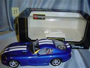 Bburago 1996 Dodge Viper GTS Coupe