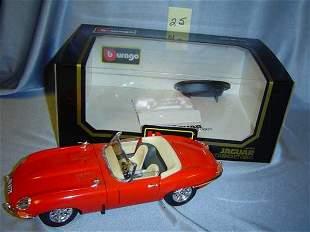 """Bburago 1961 Jaguar """"E"""" Cabriolet"""