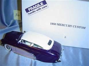 Danbury Mint 1950 Mercury Custom