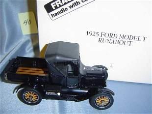 Danbury Mint 1925 Ford Model T Runabout