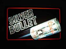287: Coors Light Silver Bullet Bar Light - electric