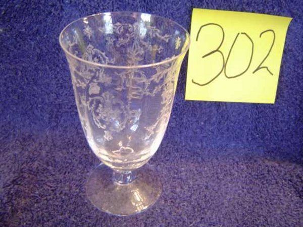 Fostoria Water Goblets - Navarre Pattern