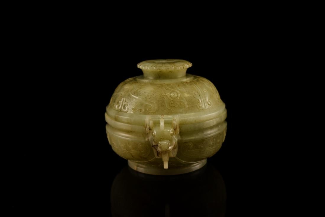 JADE COVERED CENSER - 3