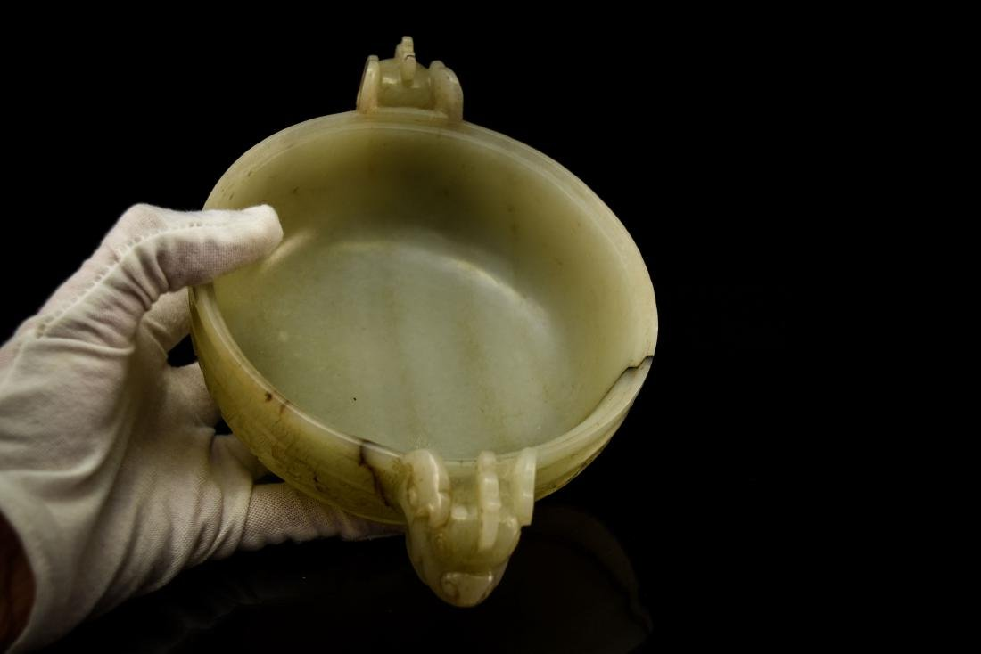 JADE COVERED CENSER - 8