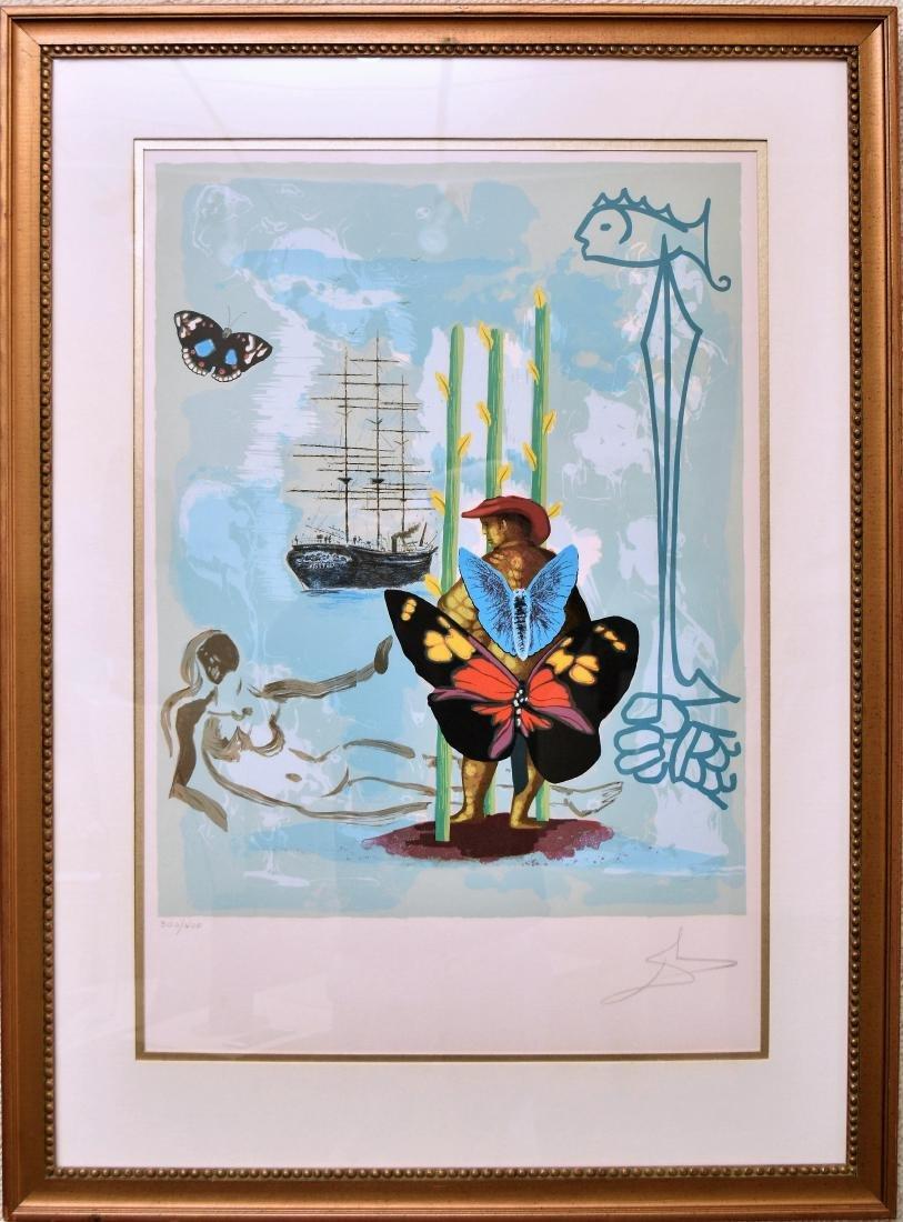 SALVADOR DALI, DREAM OF FREEDOM, 300/400 SIGNED
