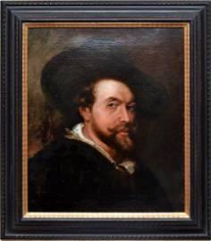 CA 1620 SIR PETER PAUL RUBENS, SELF POTRAIT