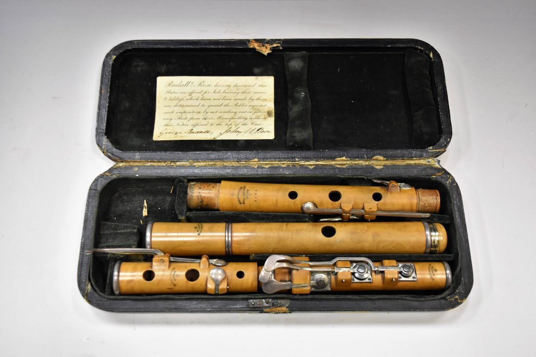 RUDALL ROSE FLUTE