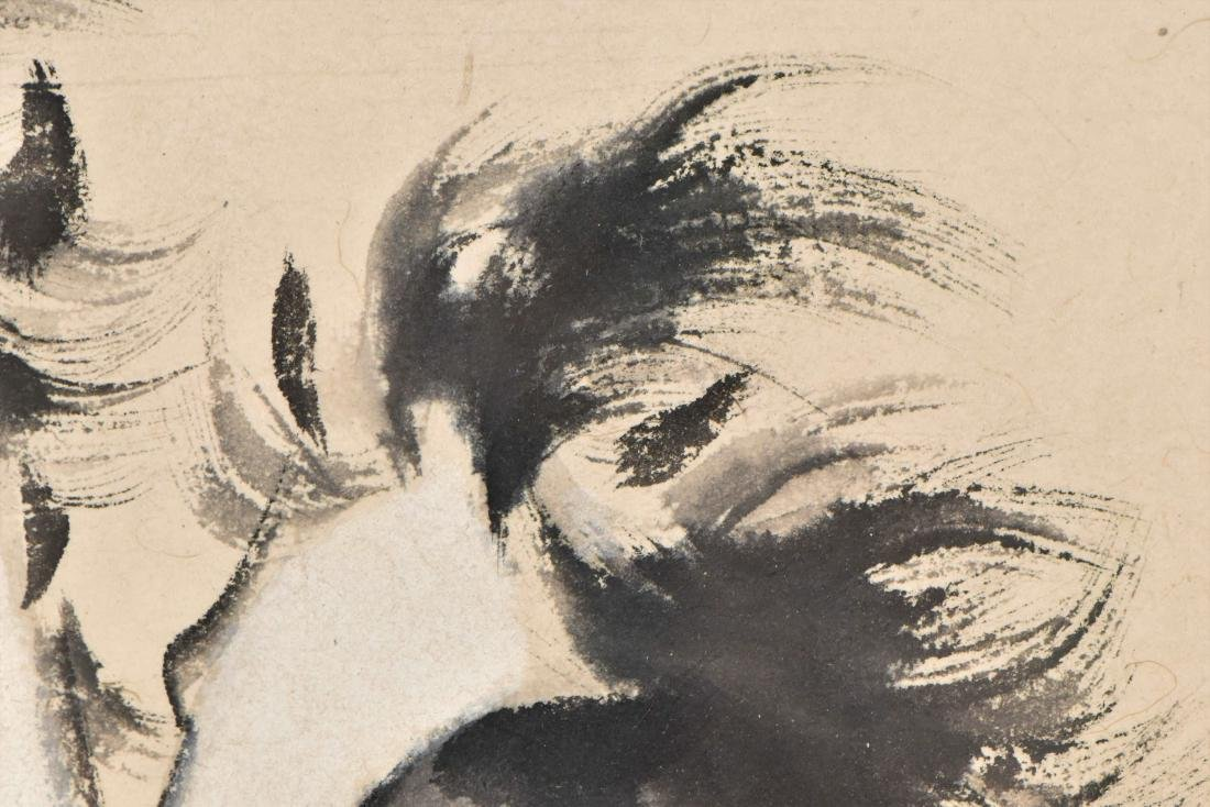 XUBEIHONG, FRAMED PAINTING 'TWO GALLOPING HORSES', 1943 - 17