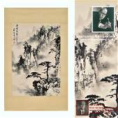 DONG SHOUPING, CHINESE LANDSCAPE PAINTING, CA. 1965