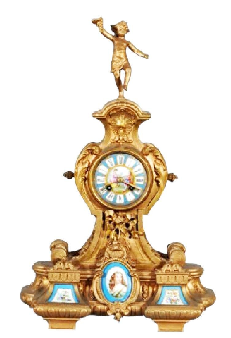 LOUIS MANTLE CLOCK