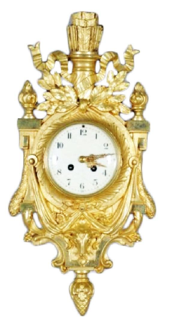 FRENCH CARTEL CLOCK