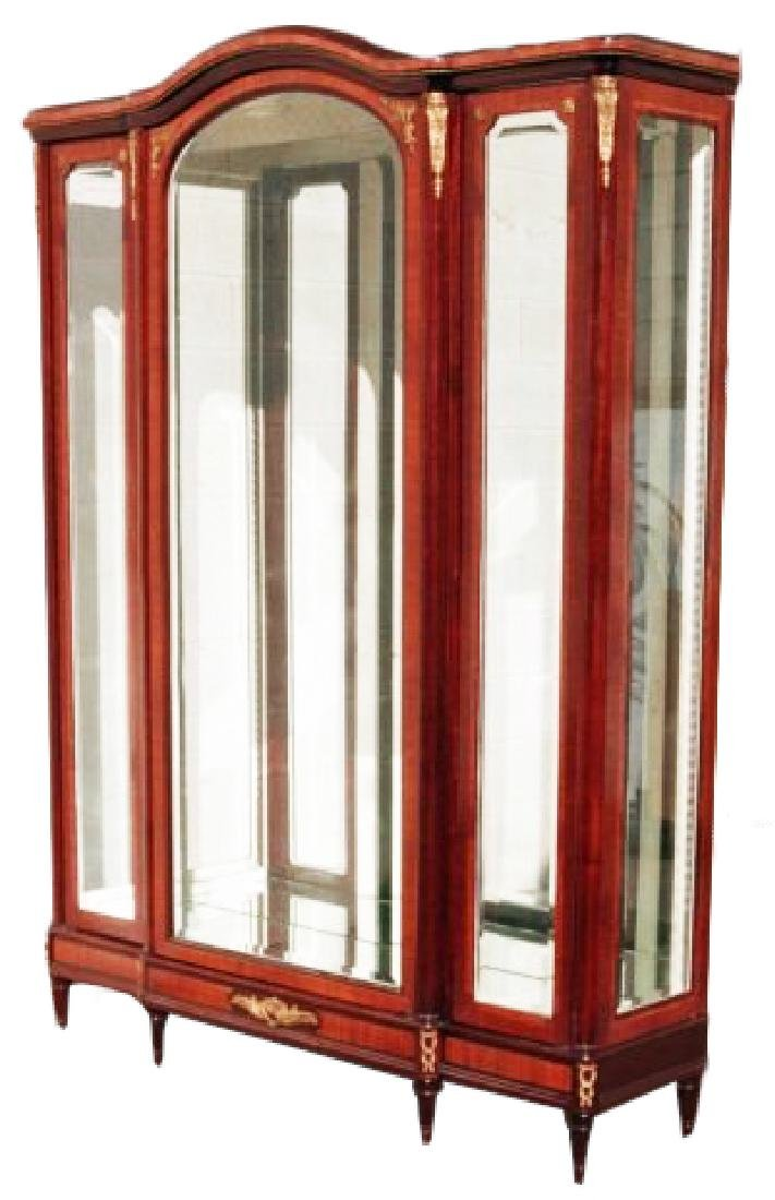 ANTIQUE LOUIS  VITRINE