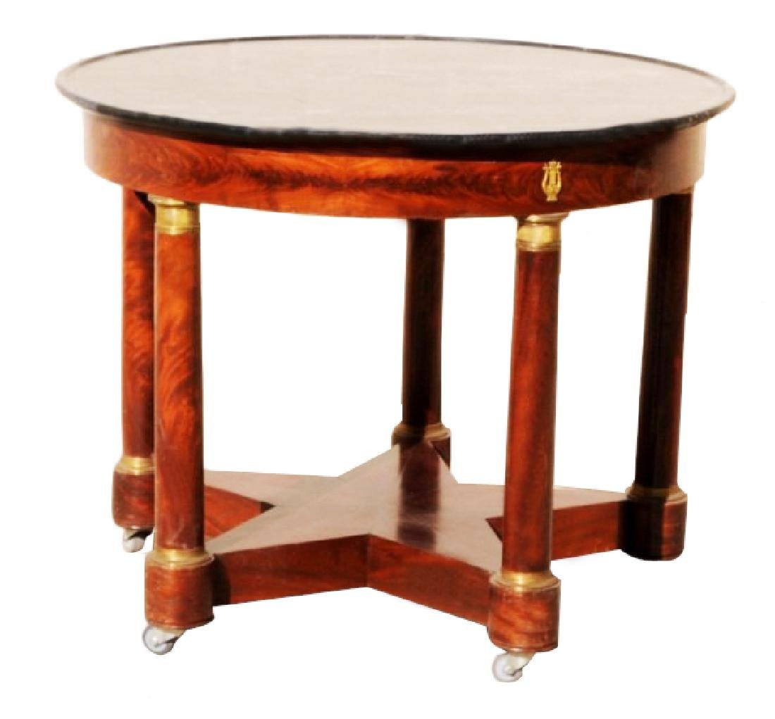 19TH C. FRENCH ROUND TABLE