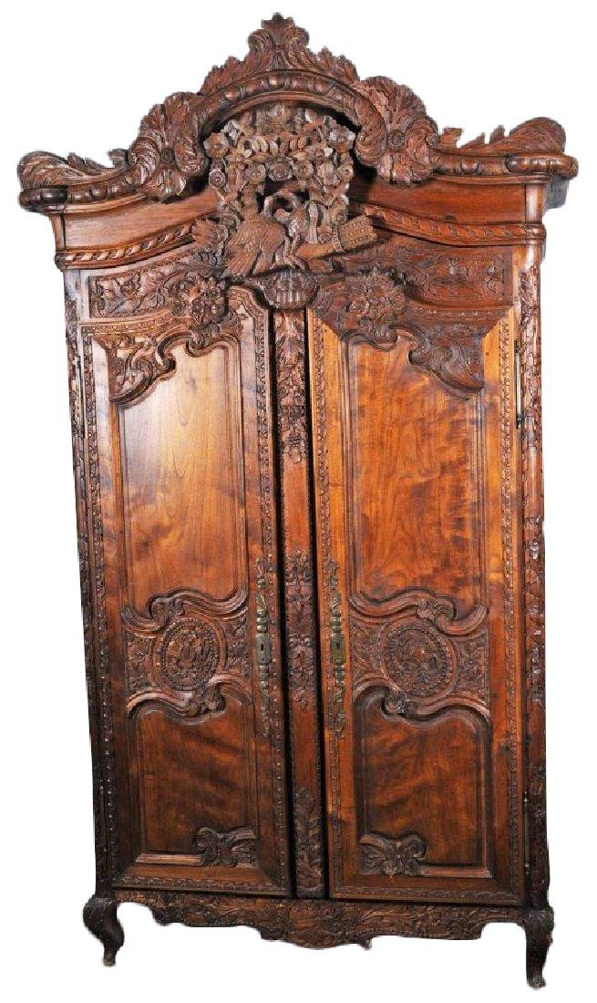 PROVENCIAL STYLE ARMOIRE