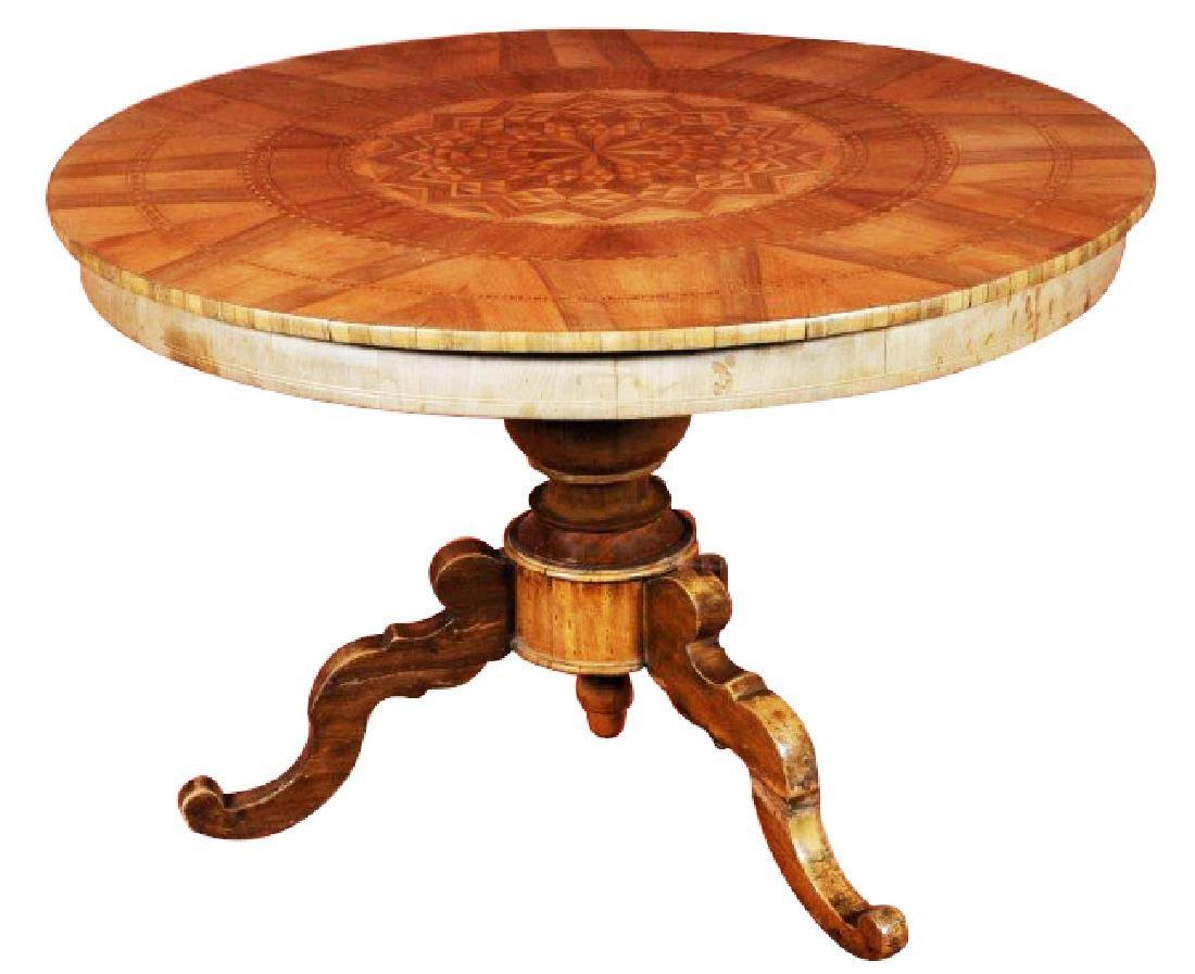 AUSTRIAN CENTER TABLE