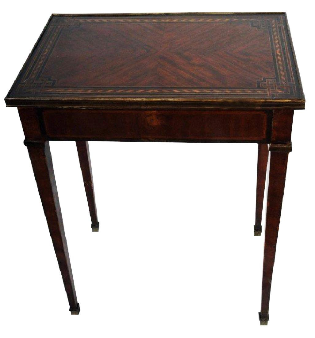 DIRECTOIRE STYLE END TABLE