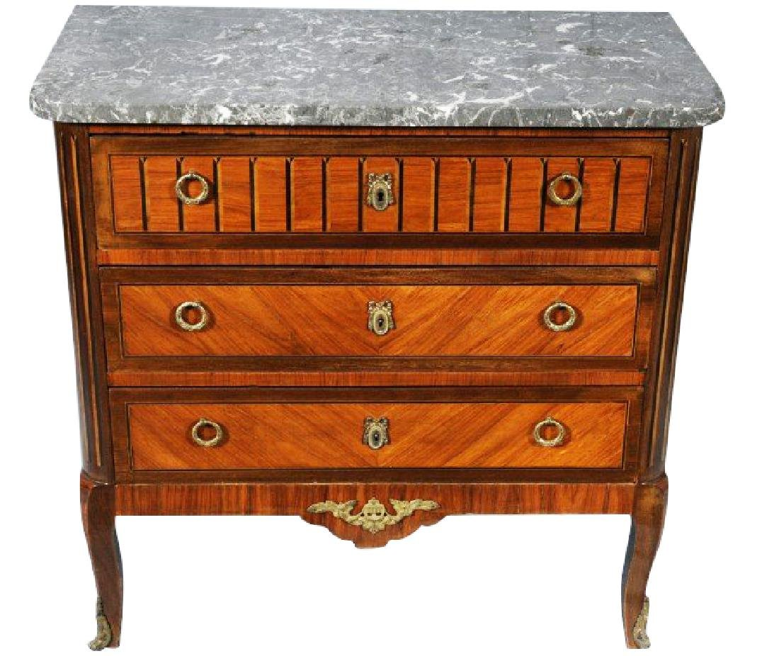 FRENCH LXV STYLE COMMODE